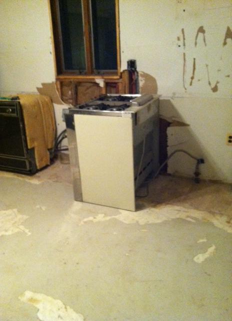 Goodbye stove!