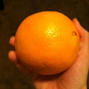 Meal 4: Pre-workout orange